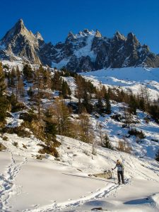 Chamonix by Snowshoe Photography Trek