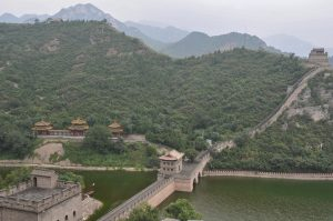 Great Wall of China and river
