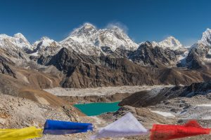 Camp in Everest